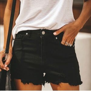 VICI KanCan distressed shorts